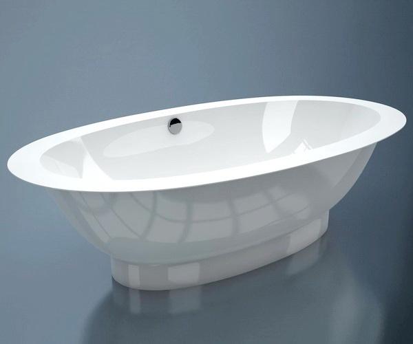 ванна из литьевого мрамора ESSE CUBA 202х109