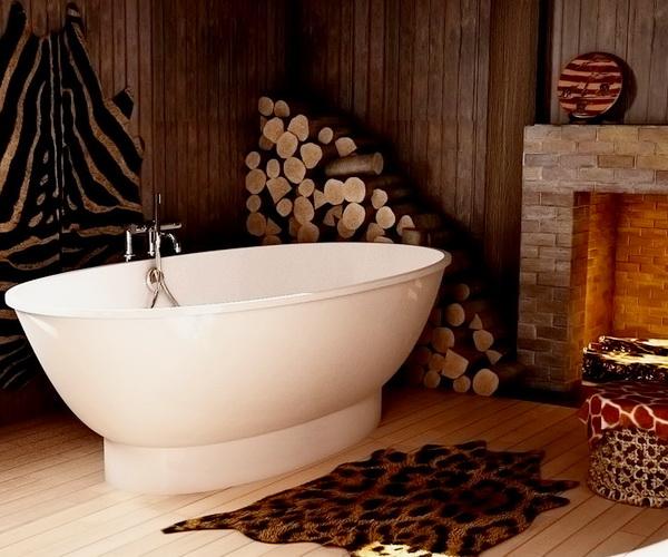 ванна из литьевого мрамора ESSE JAMBA 188х94
