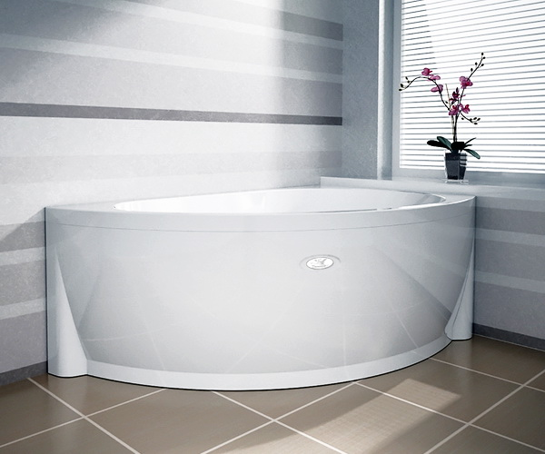 ванна акриловая RADOMIR БЕРГАМО 168х100
