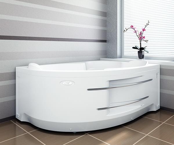 ванна акриловая RADOMIR ИРМА 169х110
