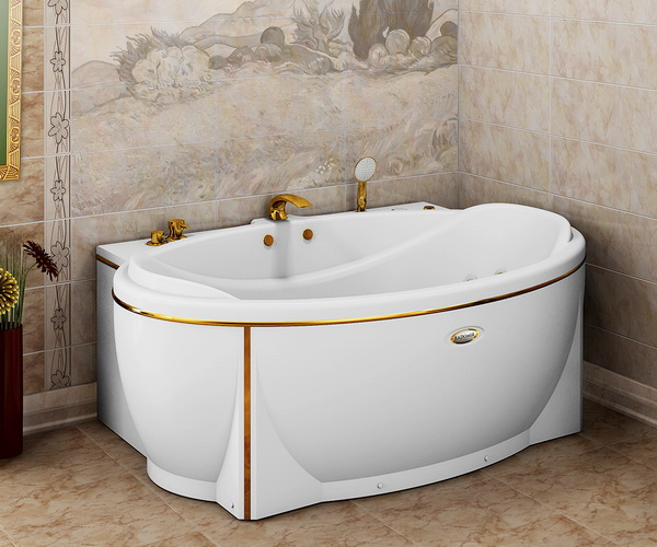 ванна акриловая RADOMIR ЛАГУНА 185х124