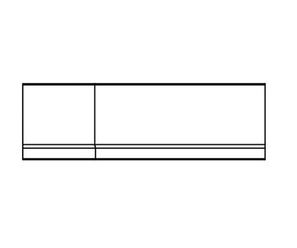 панель RAVAK BE HAPPY 160 фронтальная