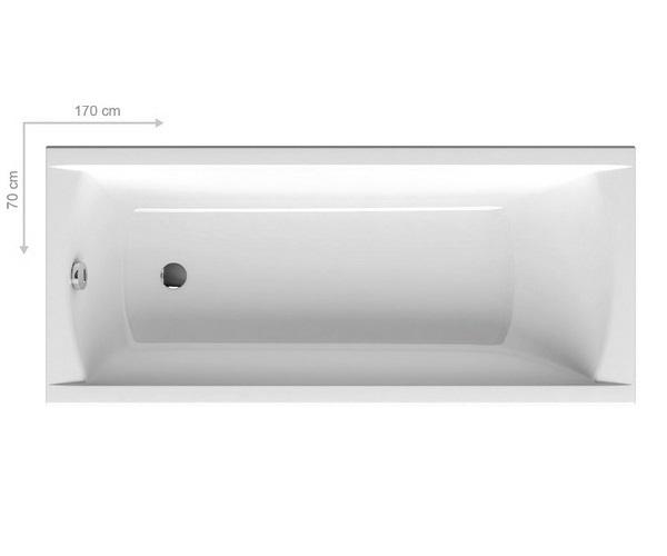 ванна акриловая RAVAK CLASSIC 170x70