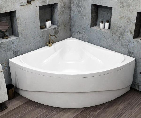 ванна акриловая RELISAN MIRA 140х140