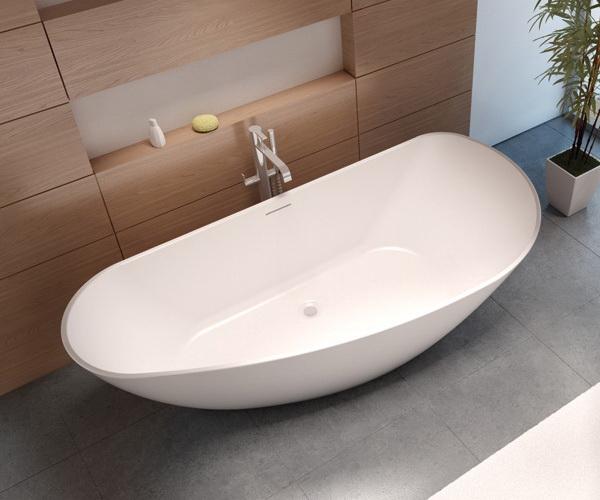 ванна из литьевого мрамора RIHO GRANADA 190х90
