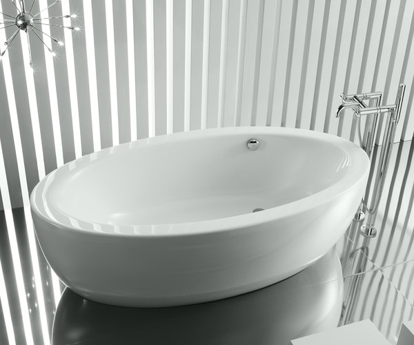 ванна акриловая ROCA GEORGIA 185х100