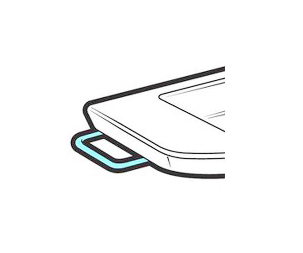 полотенцедержатель для раковины ROCA HALL