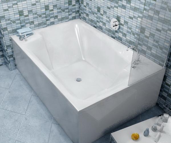 ванна акриловая VAYER ONTARIO 190х125