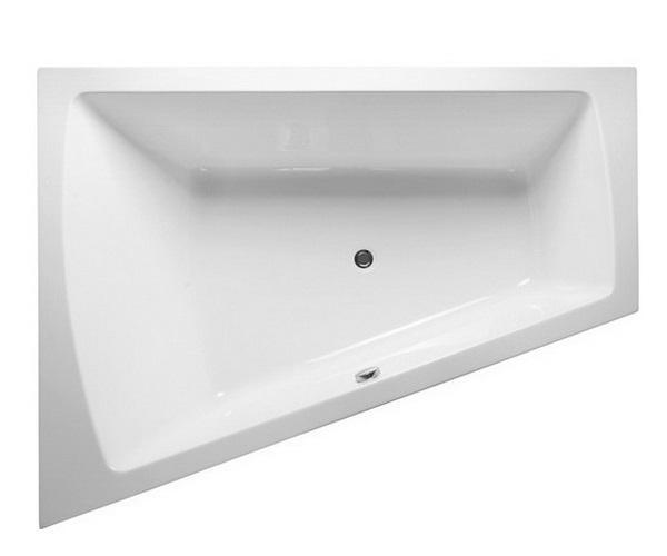 ванна акриловая VAYER TRINITY 170х130