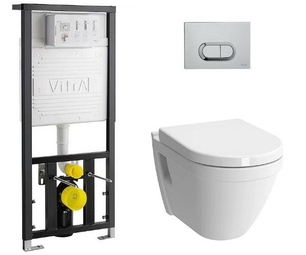 инсталляция и унитаз VITRA S50