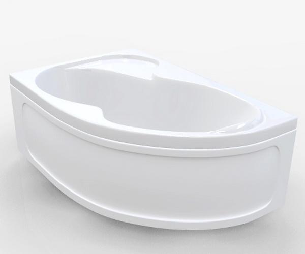 ванна акриловая 1MARKA AURA 160х105