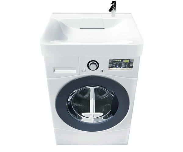 раковина 1MARKA LAUNDRY для стиральной машины