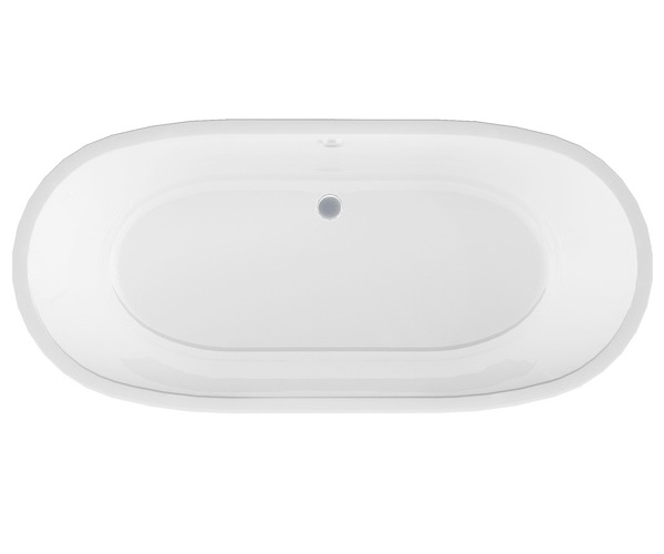 ванна акриловая 1MARKA TONDO 174х80