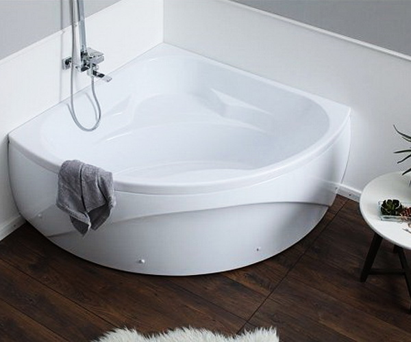 ванна акриловая AQUANET VITORIA 130х130