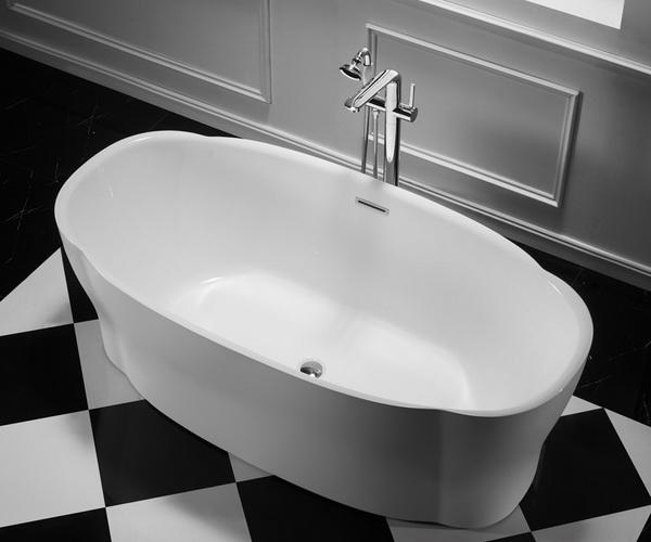 ванна акриловая BELBAGNO BB403 170х85