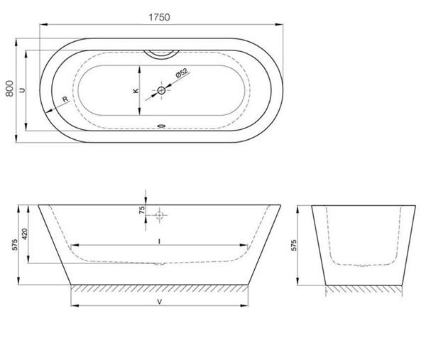 ванна стальная BETTE STARLET OVAL 175х80