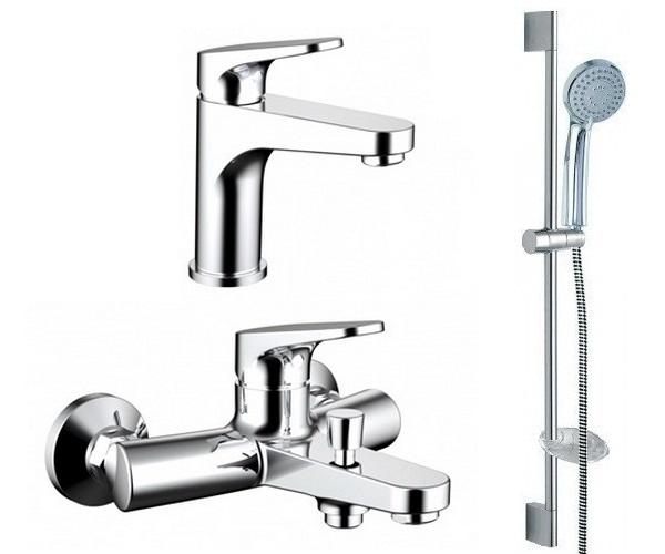 смеситель для ванны BRAVAT ELER - комплект