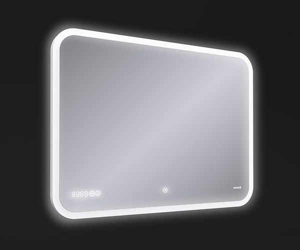 зеркало CERSANIT LED PRO 80 с часами и BT