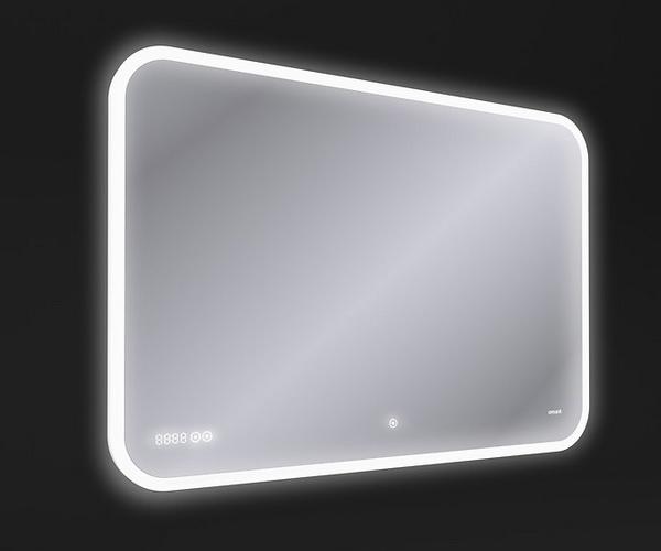 зеркало CERSANIT LED PRO 100 с часами и BT