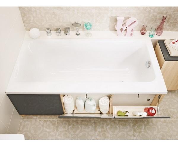 ванна акриловая CERSANIT SMART 170х80