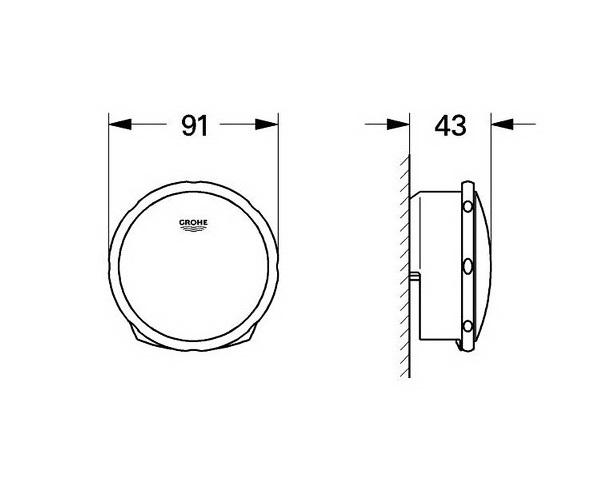 рукоятка для перелива GROHE TALENTOFILL