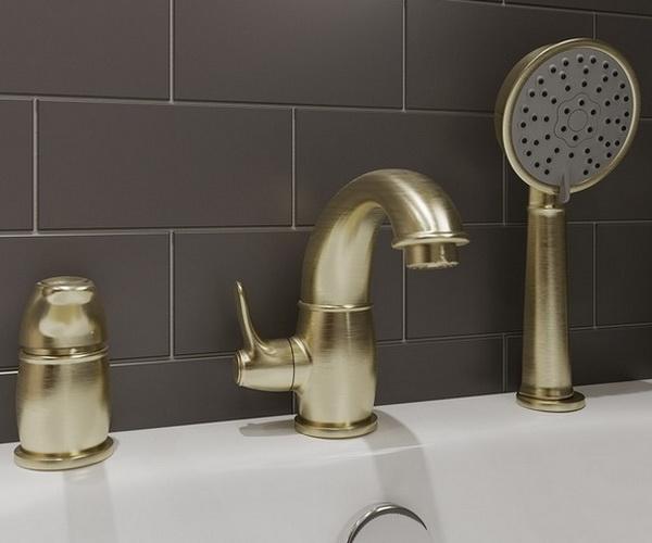 смеситель для ванны IDDIS OLDIE