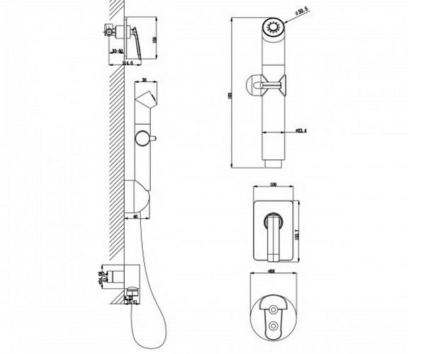 гигиенический набор LEMARK BELLARIO