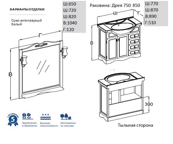 комплект OPADIRIS КЛИО 80