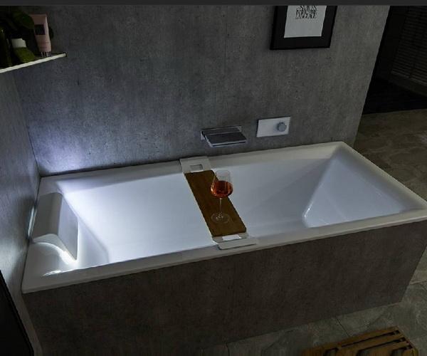 ванна акриловая RIHO STILL SQUARE 180х80 с подсветкой