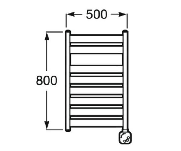 полотенцесушитель ROCA HOTELS 500х800