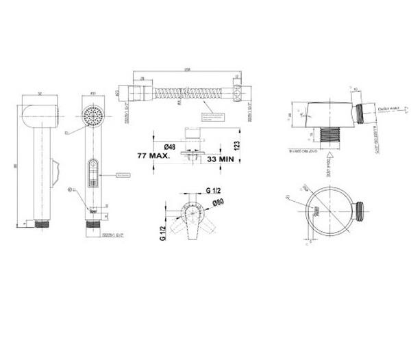 гигиенический набор TEKA MALLORCA