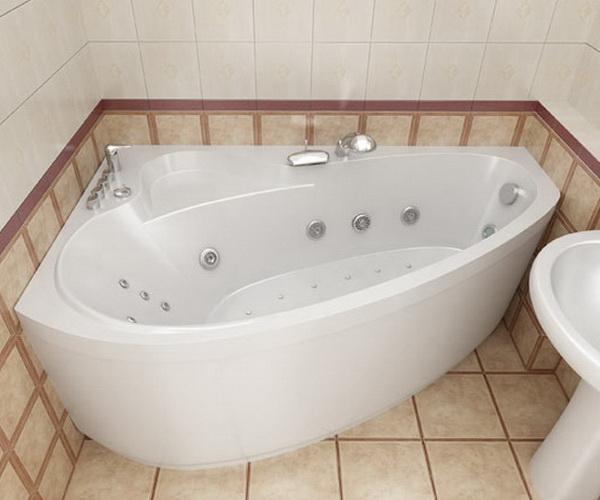 ванна акриловая TRITON ПЕАРЛ-ШЕЛЛ 160х104