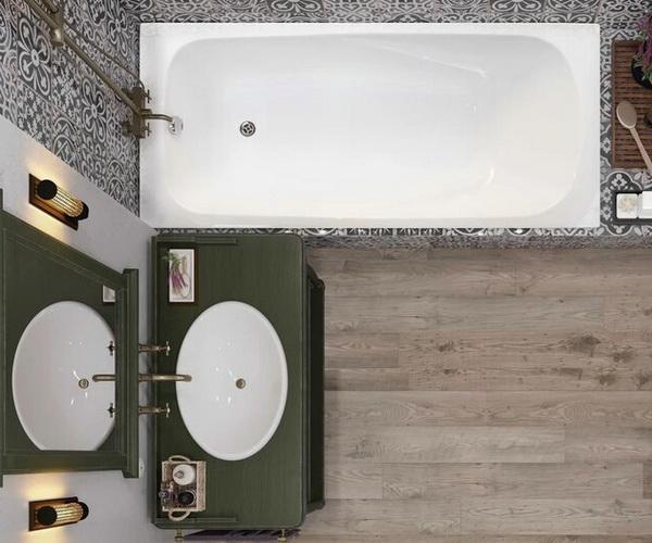 ванна акриловая VAGNERPLAST ARONIA 170х75