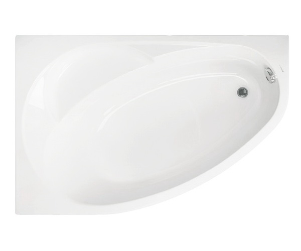 ванна акриловая VAGNERPLAST FLORA 150х100