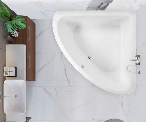 ванна акриловая VAGNERPLAST INCOGNITO 180х180